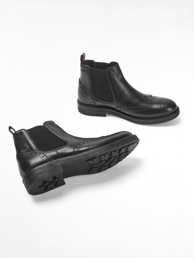 Carter Brogue Chelsea Boots