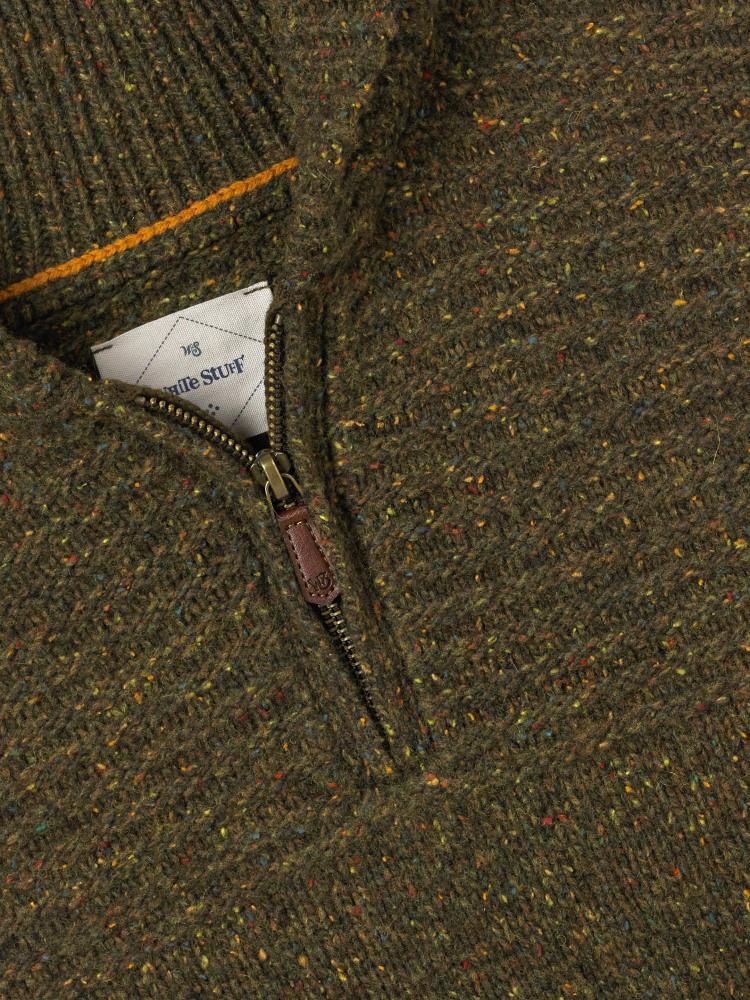 Malham Textured Zip Shawl