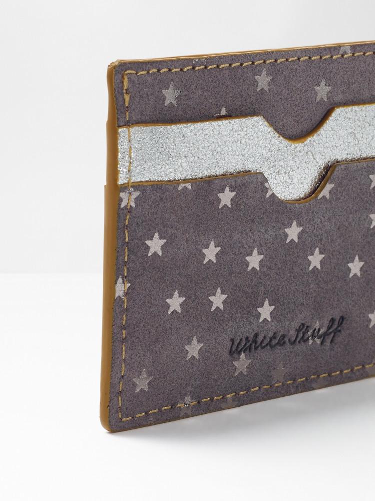 Star Suede Cardholder