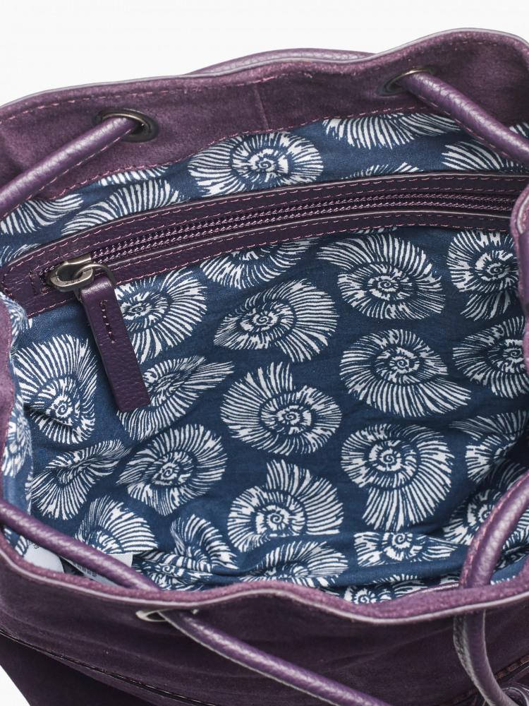 Tawny Suede Bucket Bag