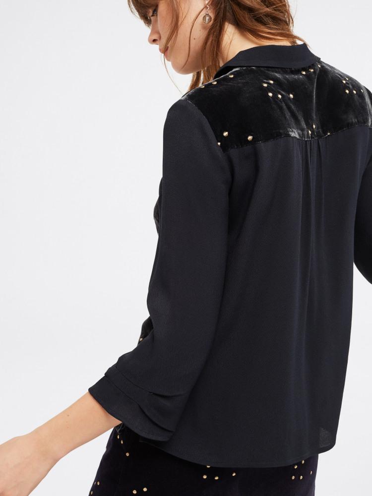 Wish Upon Velvet Shirt