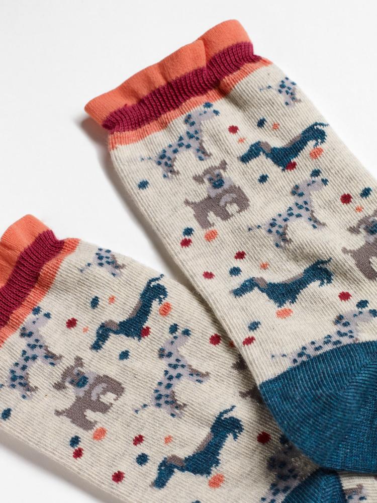 Daisy Dog Sock