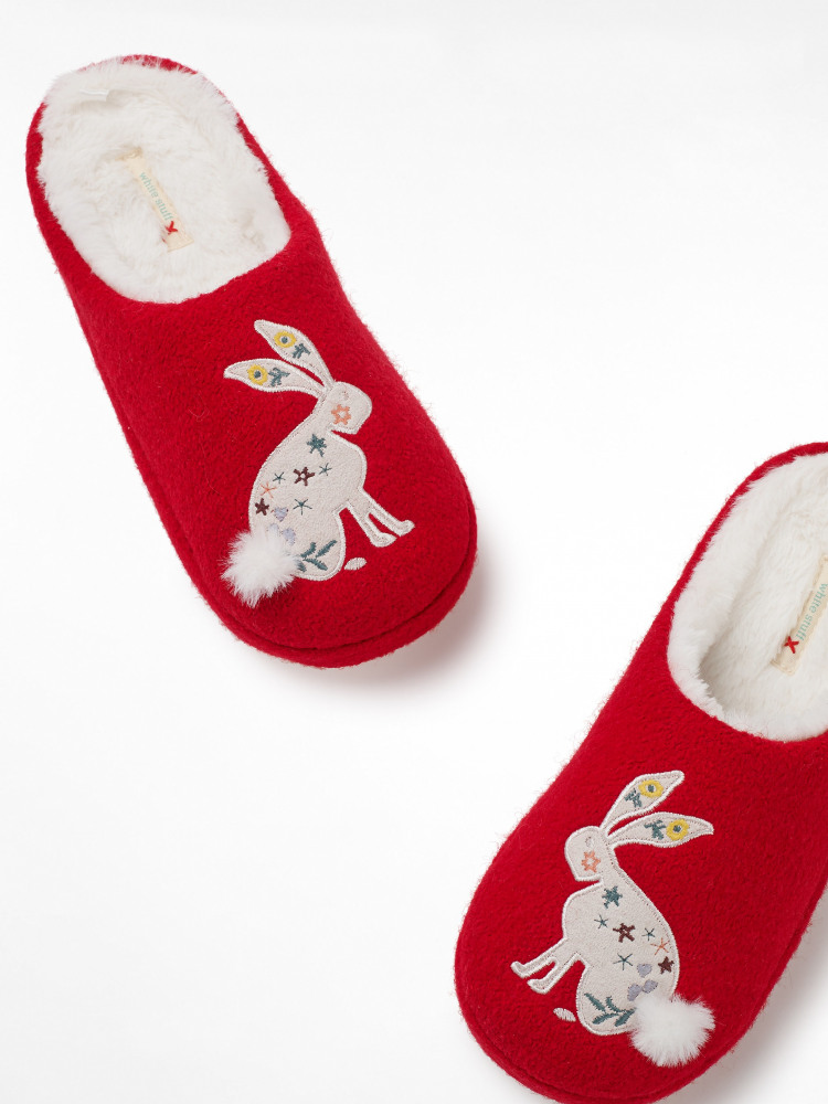 Novelty Bunny Mule Slipper