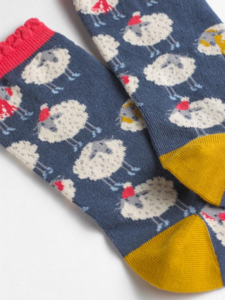Ewes In Love Sock