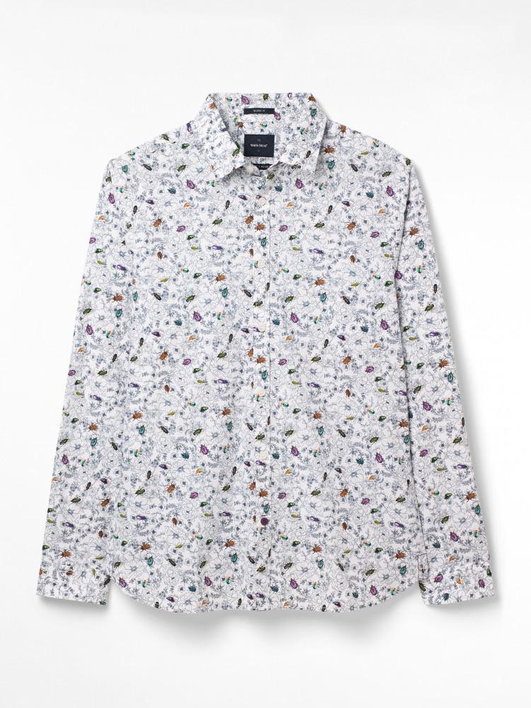 Beetle Trail Print Shirt