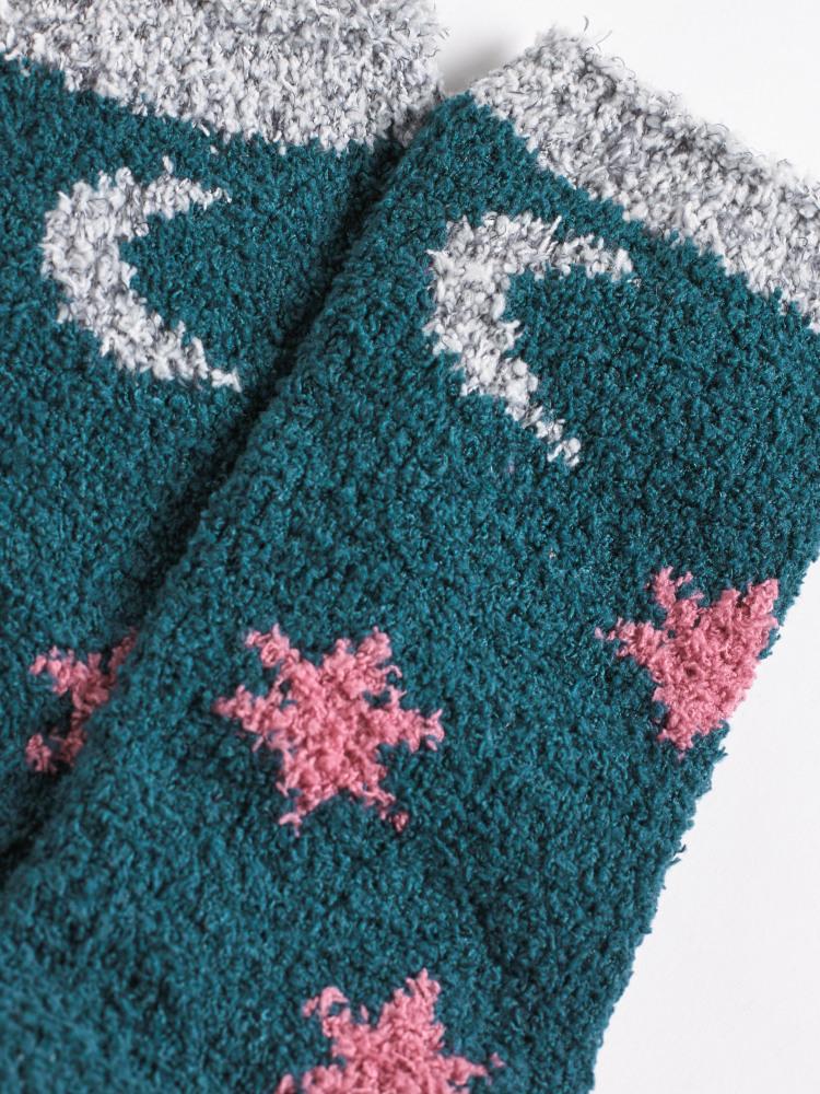 Star Fluffy Sock