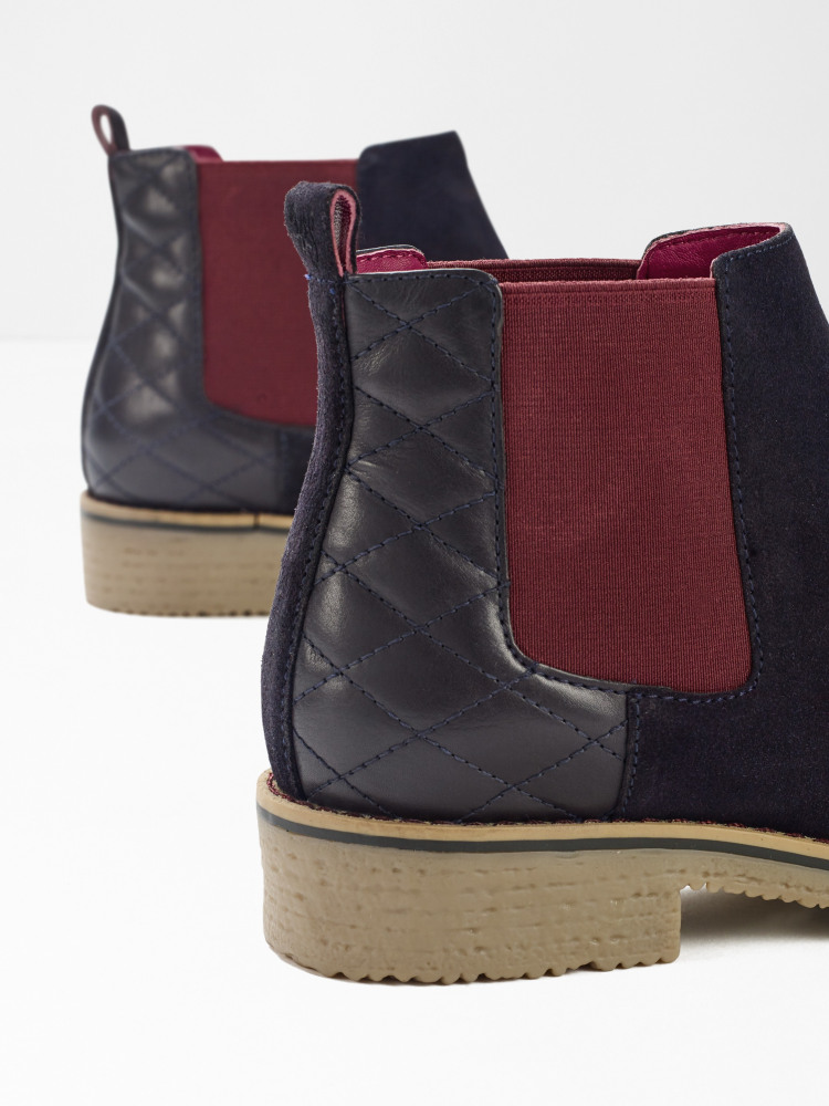 Laney Quilted Chelsea Boot