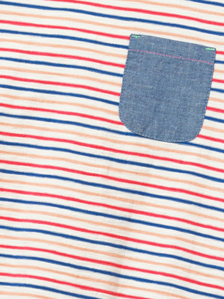 Albie Striped Jersey Tee