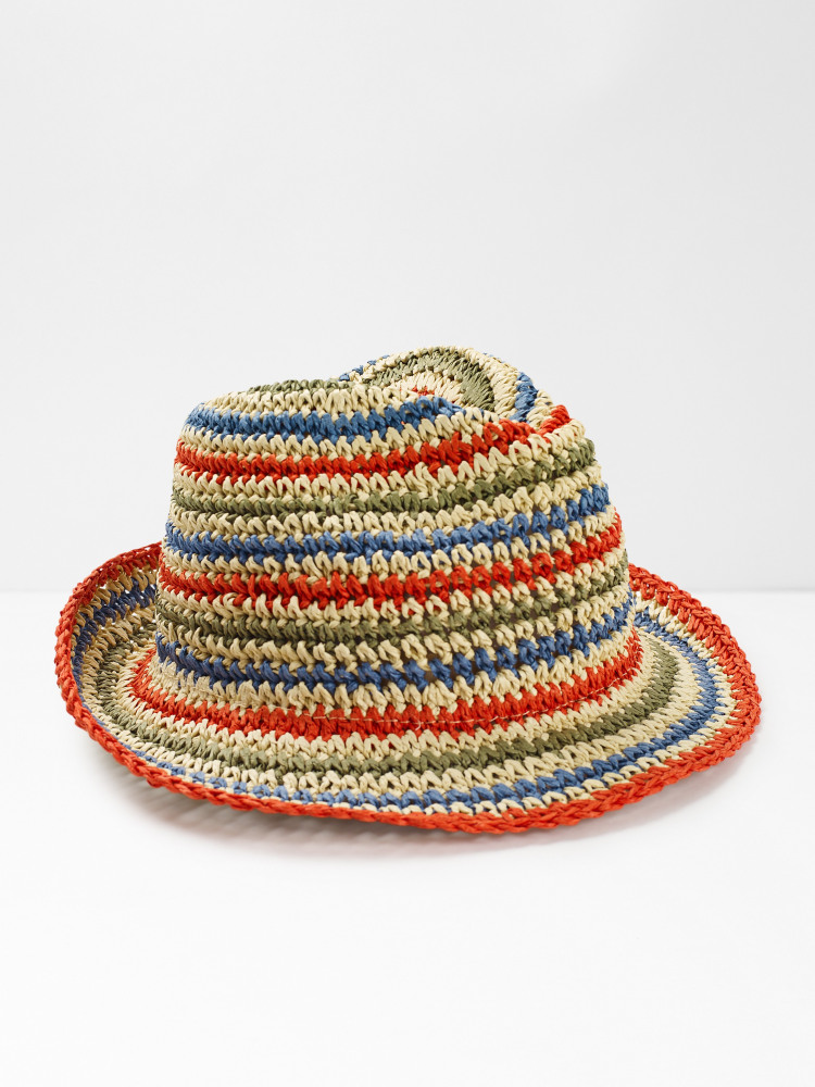 Summer Stripe Hat