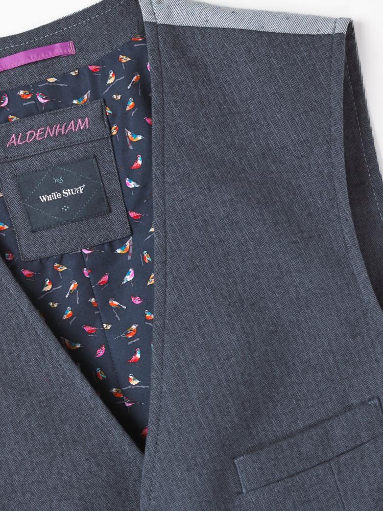 Aldenham Herringbone Waistcoat