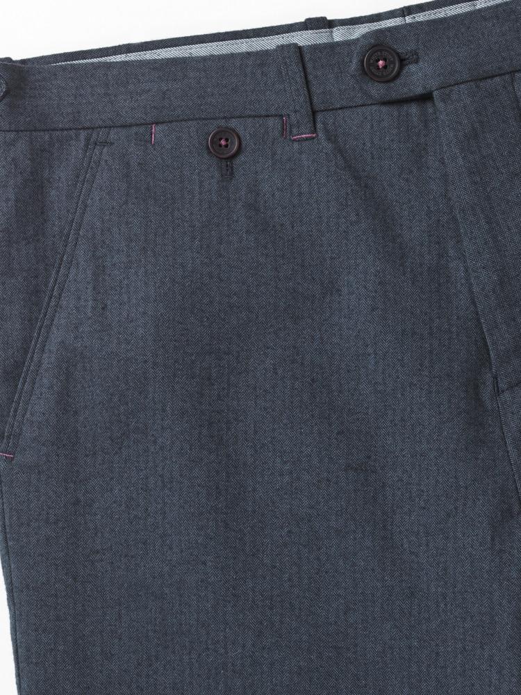 Aldenham Herringbone Trouser