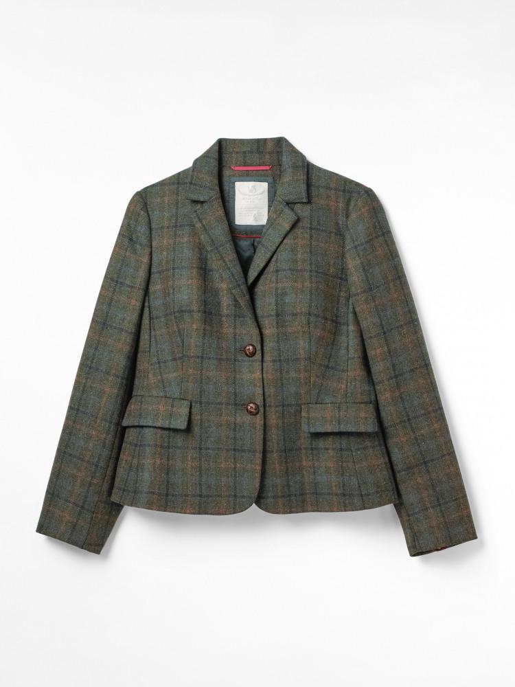 Misty Morning Check Jacket