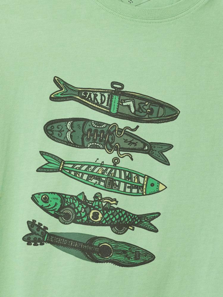 Fish Graphic Organic Tee