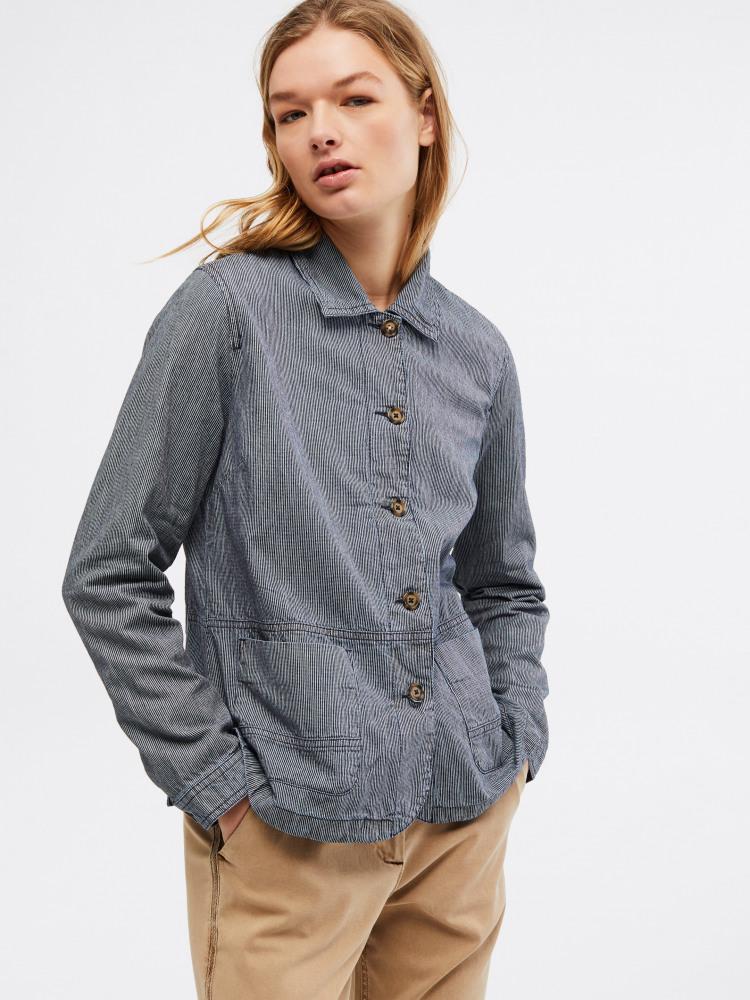 Dena Stripe Jacket