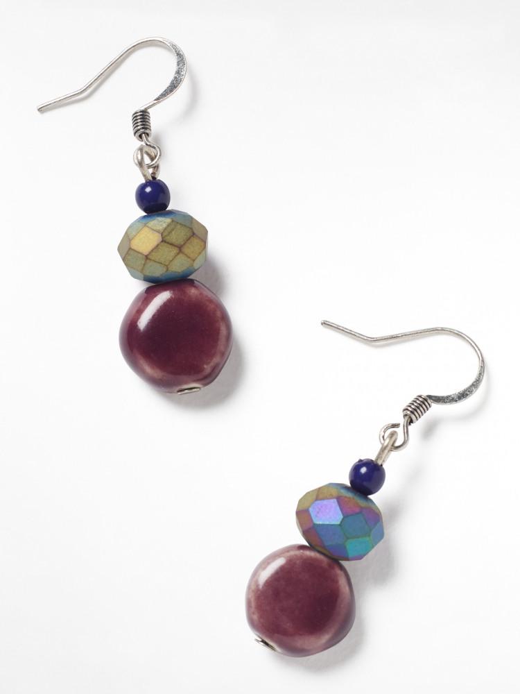 Dewberry Drop Earrings