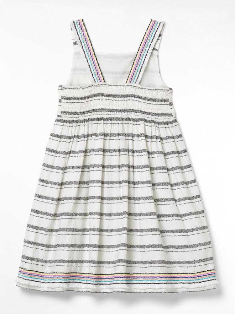 Stripey Summer Woven Dress