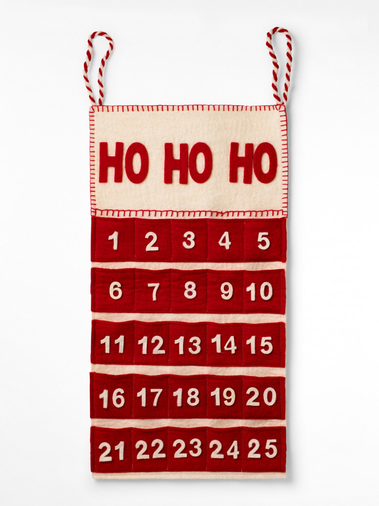Felt HoHoHo Advent Calendar