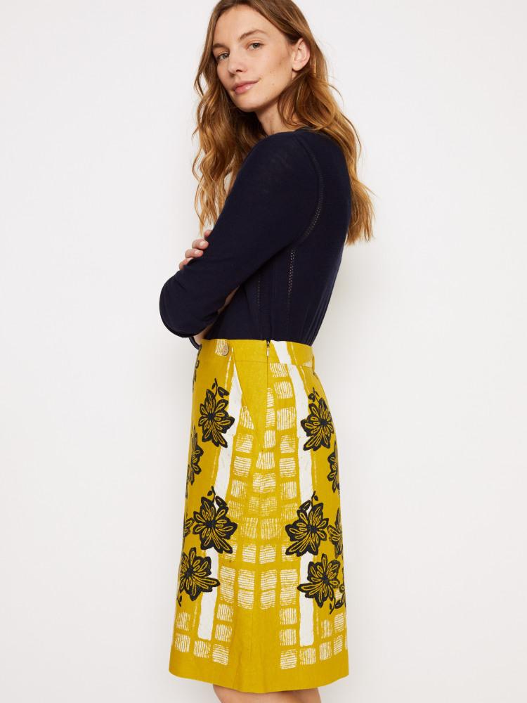 Shibori Skirt