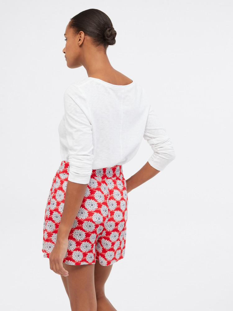 Sea Lily Crinkle Short