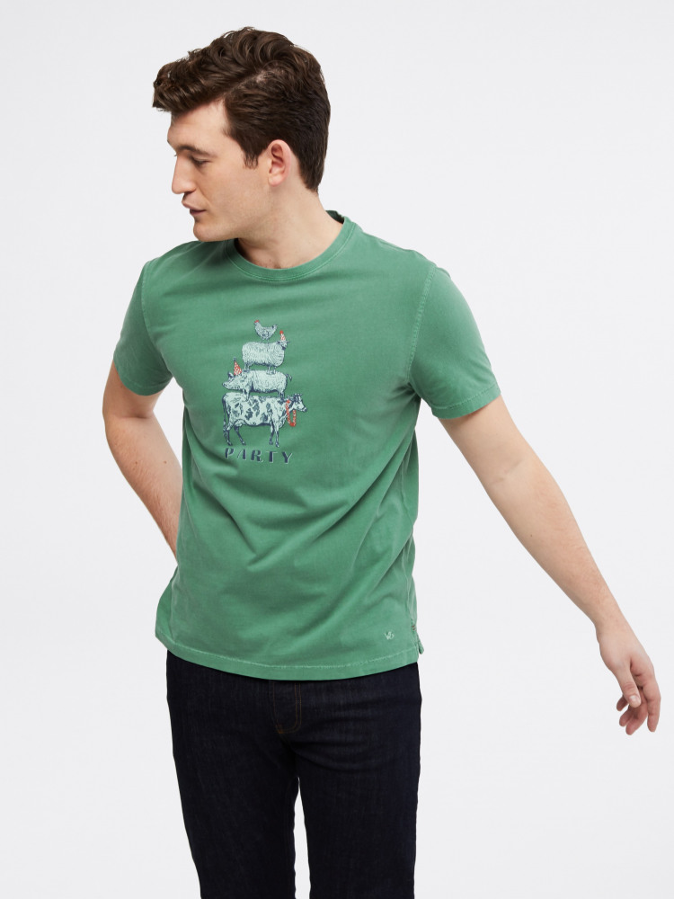 Party Animals Graphic Tee