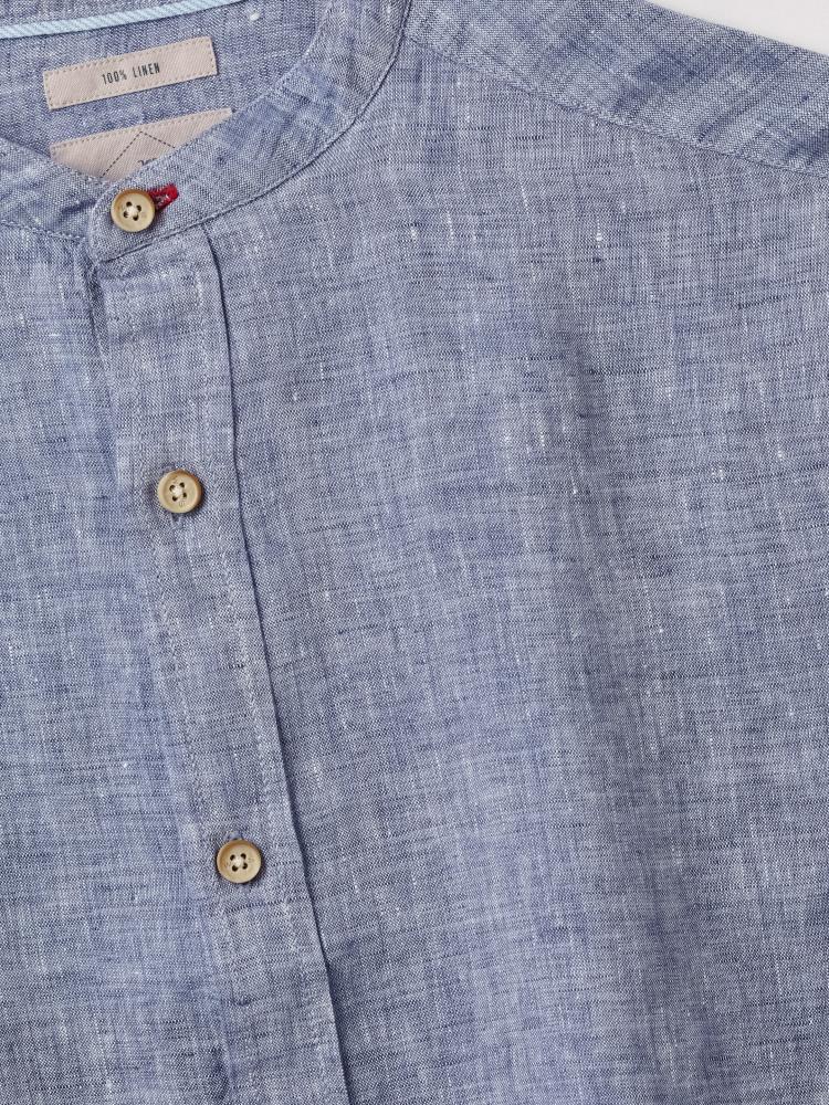 Rigging Grandad Linen Shirt