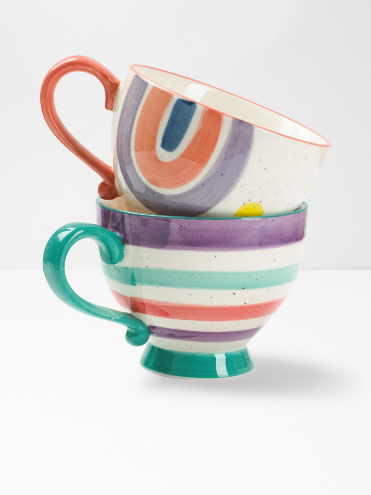 Rainbow Decorative Mug