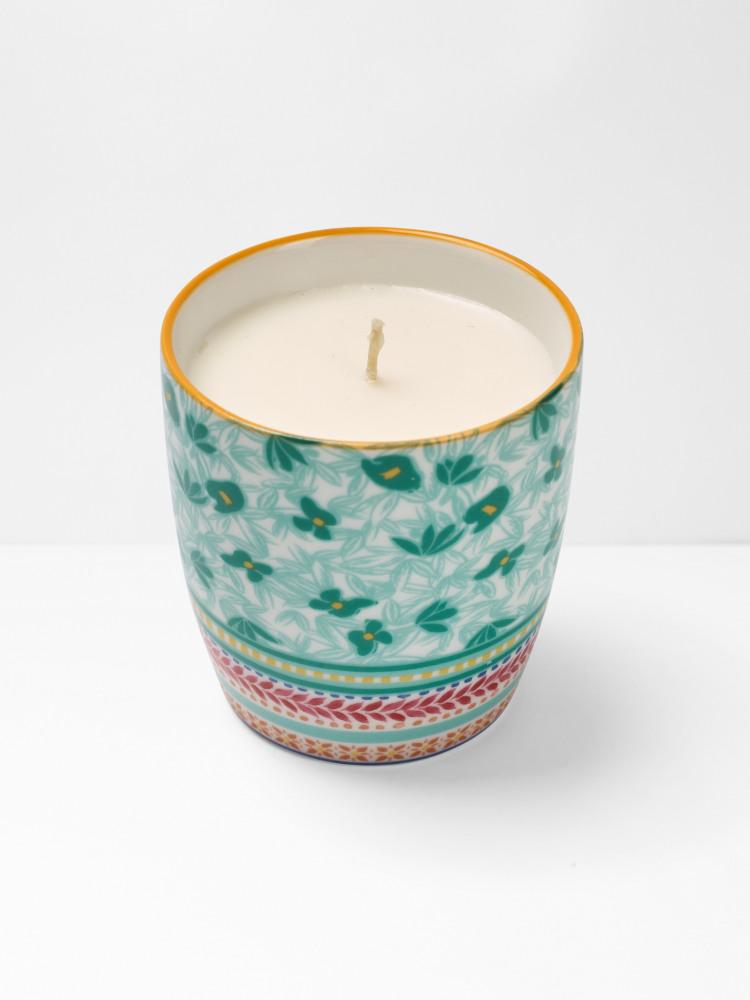Mint Leaf Candle