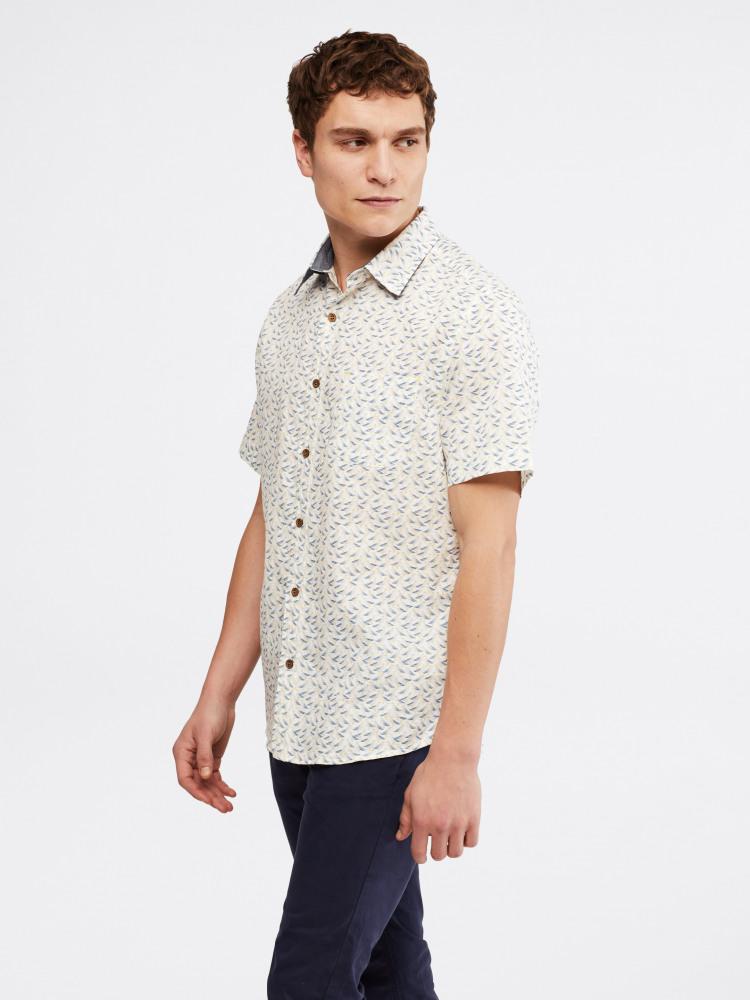 Seagulls Print Shirt