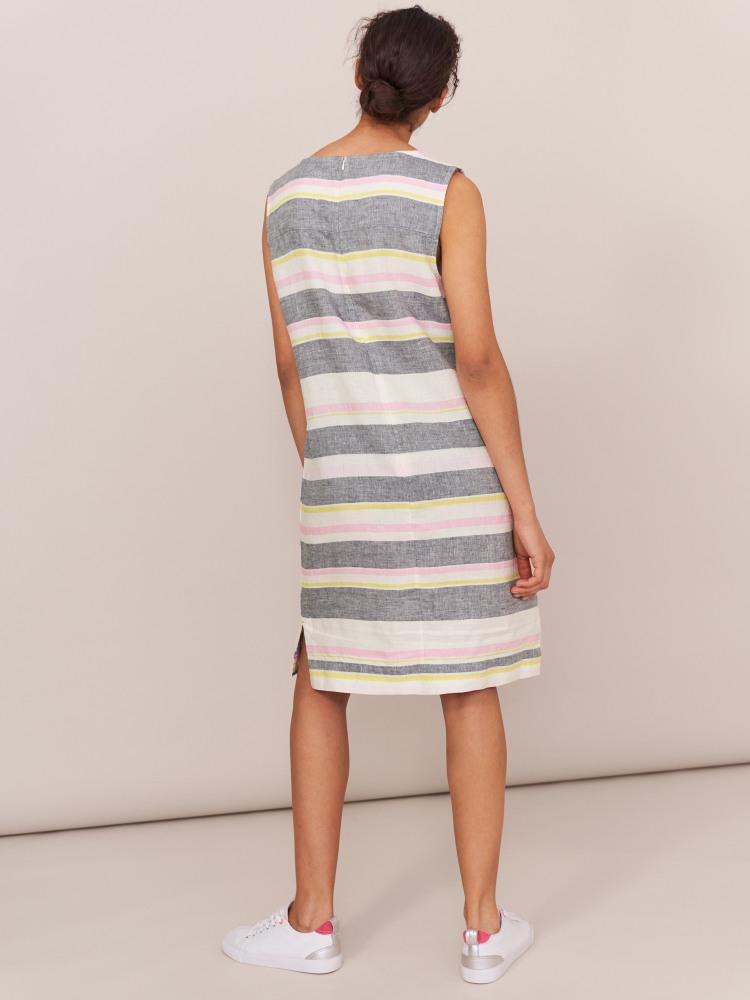 Ellinor Stripe Linen Dress