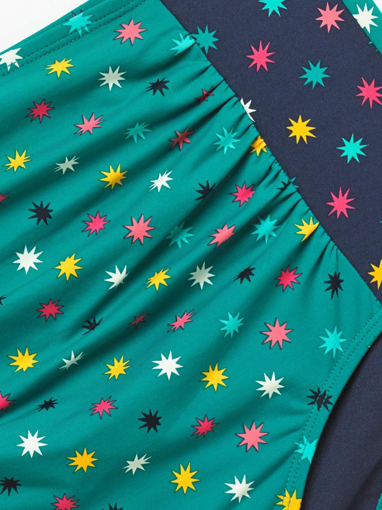 Ditsy Star High Waist Bottom