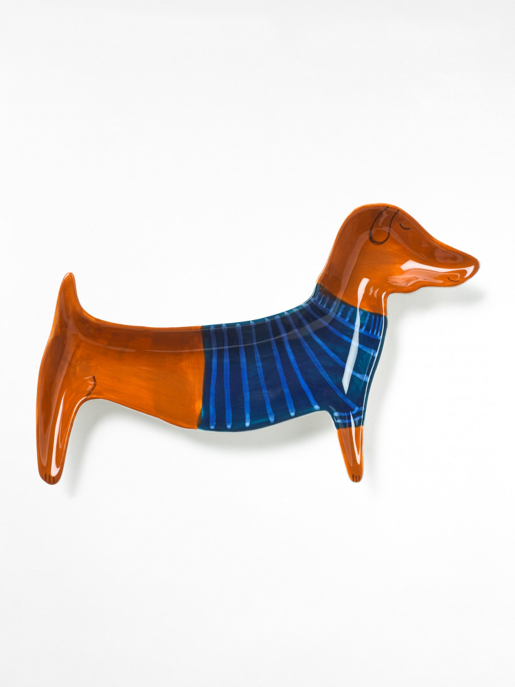 Sausage Dog Trinket Tray