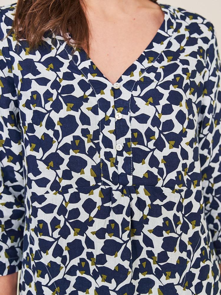 Anais Linen Tunic