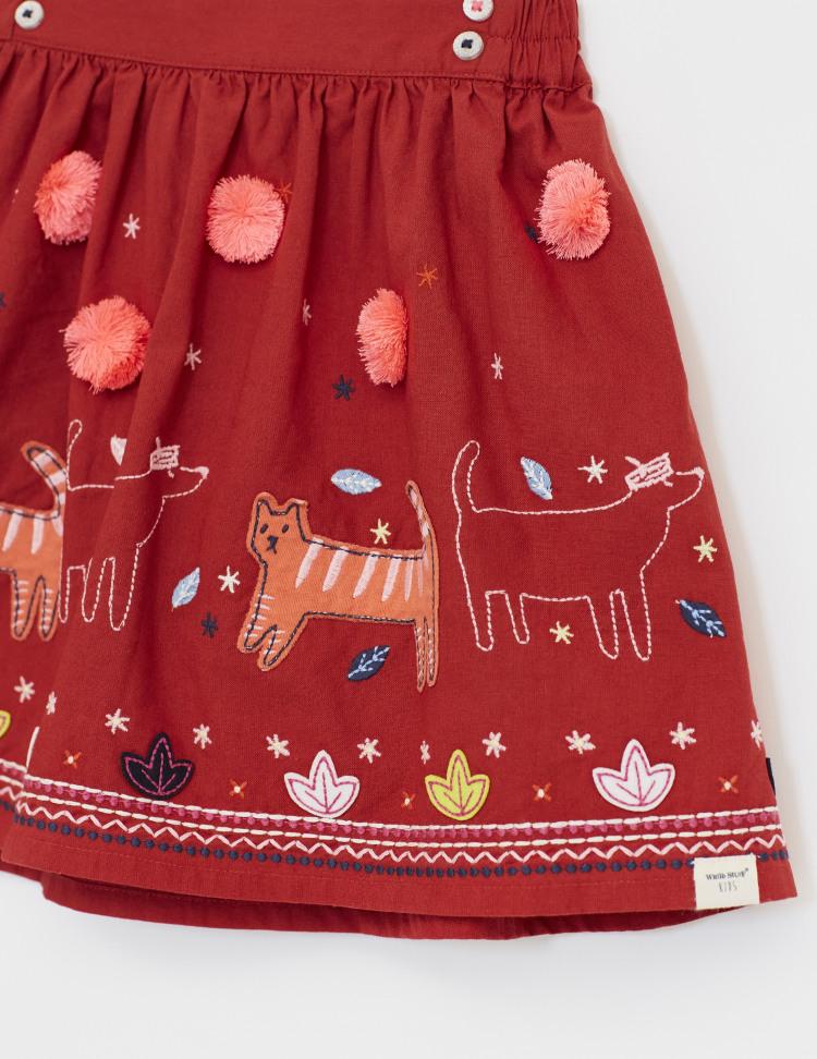 Stitch the Cat Woven Skirt