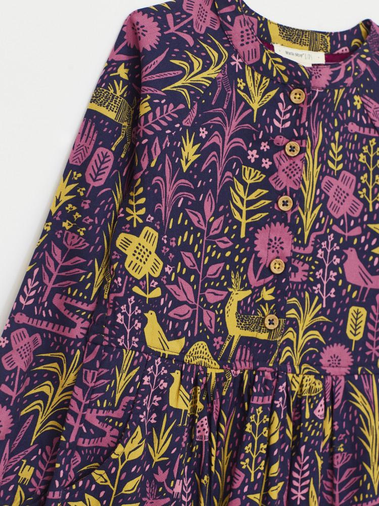 Woodland Gathering Shirt Dress