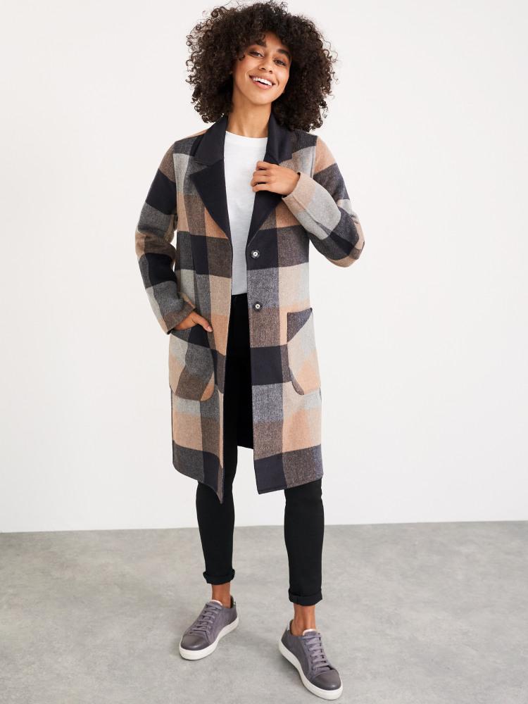 Bista Reversible Wool Coat