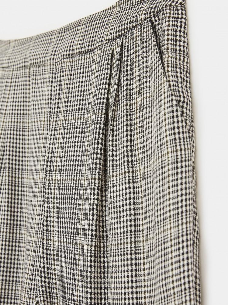 Soft Check Culottes