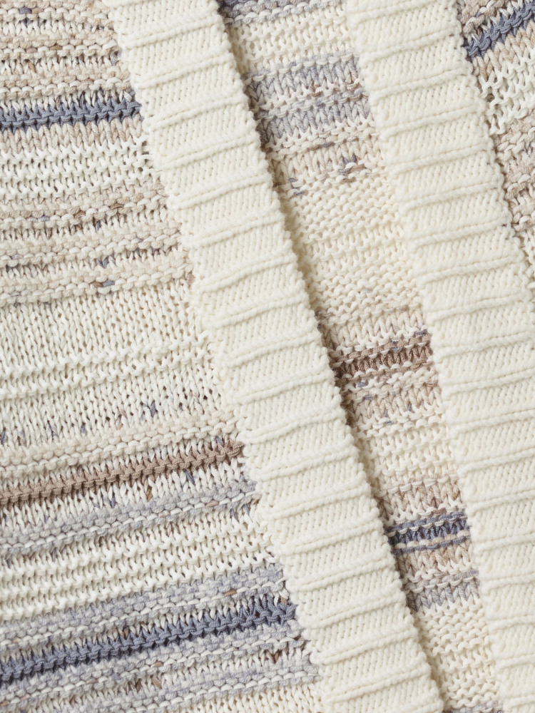Textured Stripe Cardi