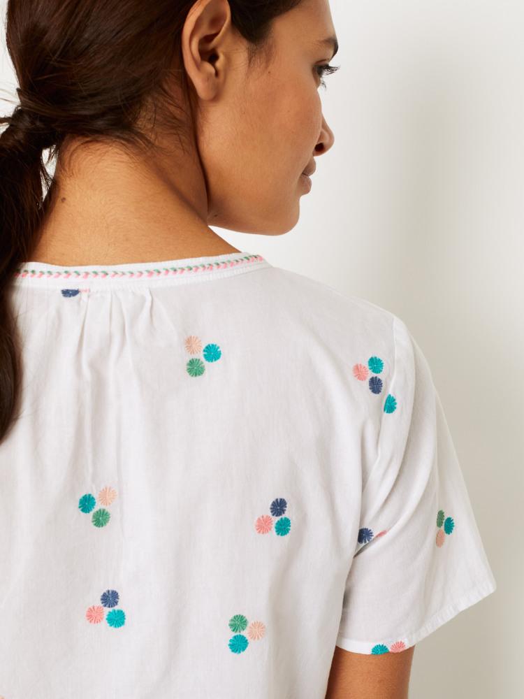 Mya Embroidered Top