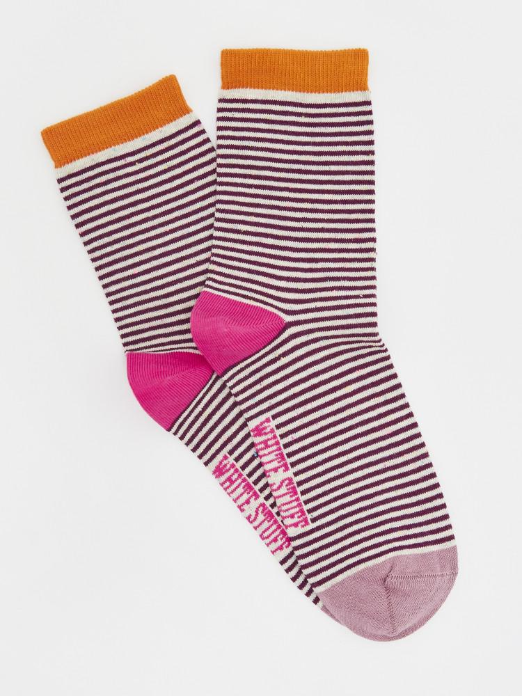 Nep Stripe Socks