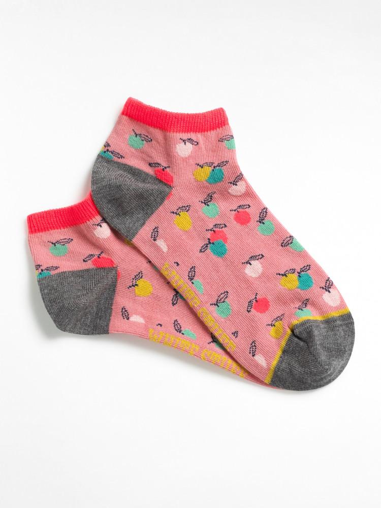 Little Apples Trainer Socks