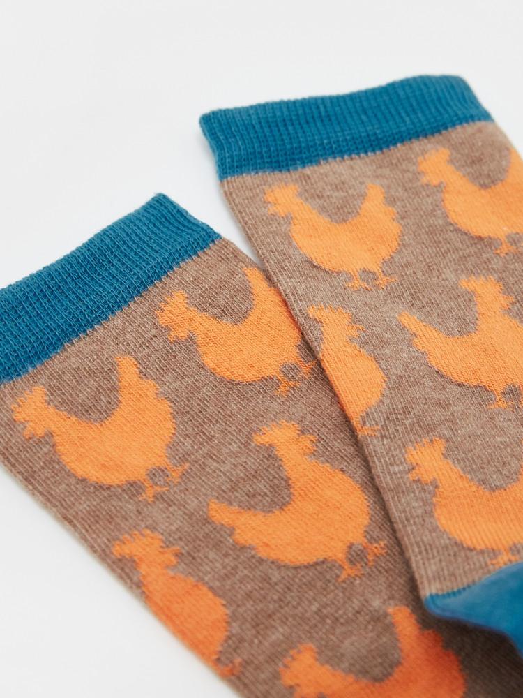 Feeling Clucky Socks