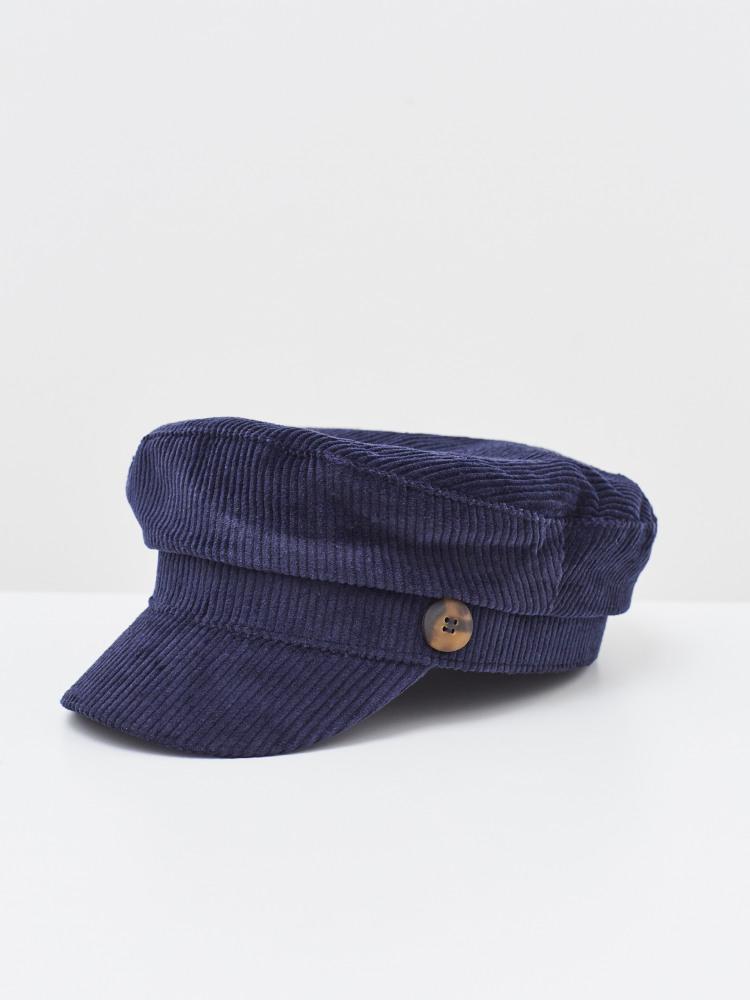 Cord Baker Boy Hat