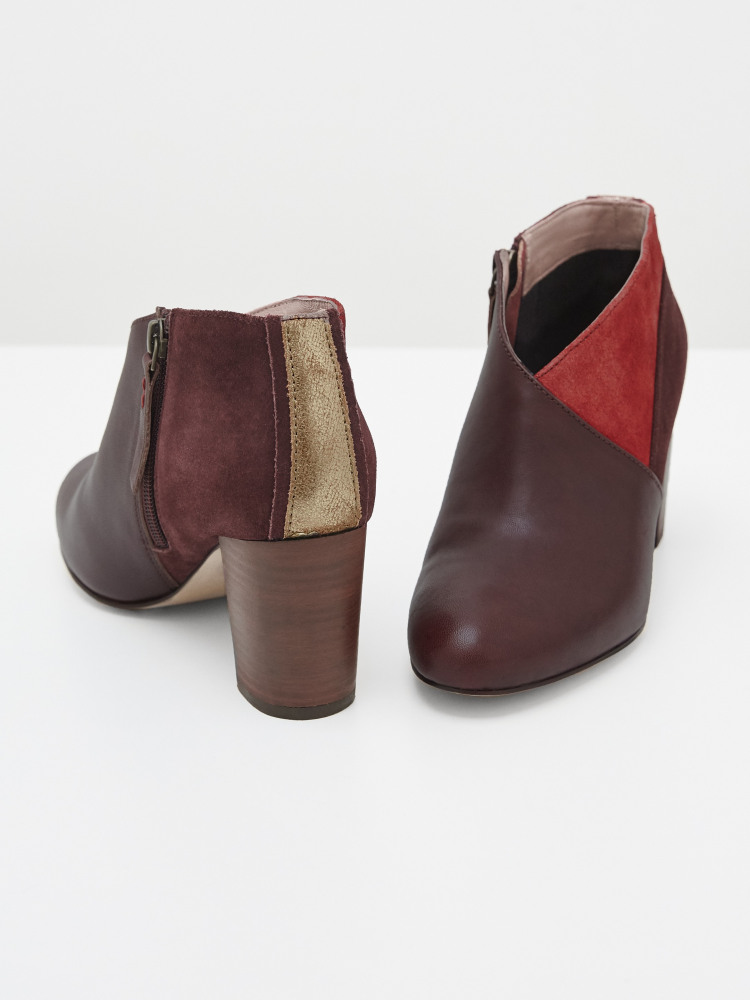 Lacey Leather Shoe Boots