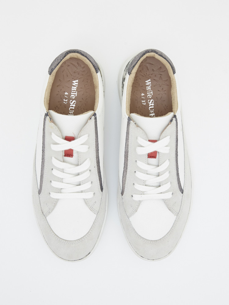 Louisa Lace Up Trainers