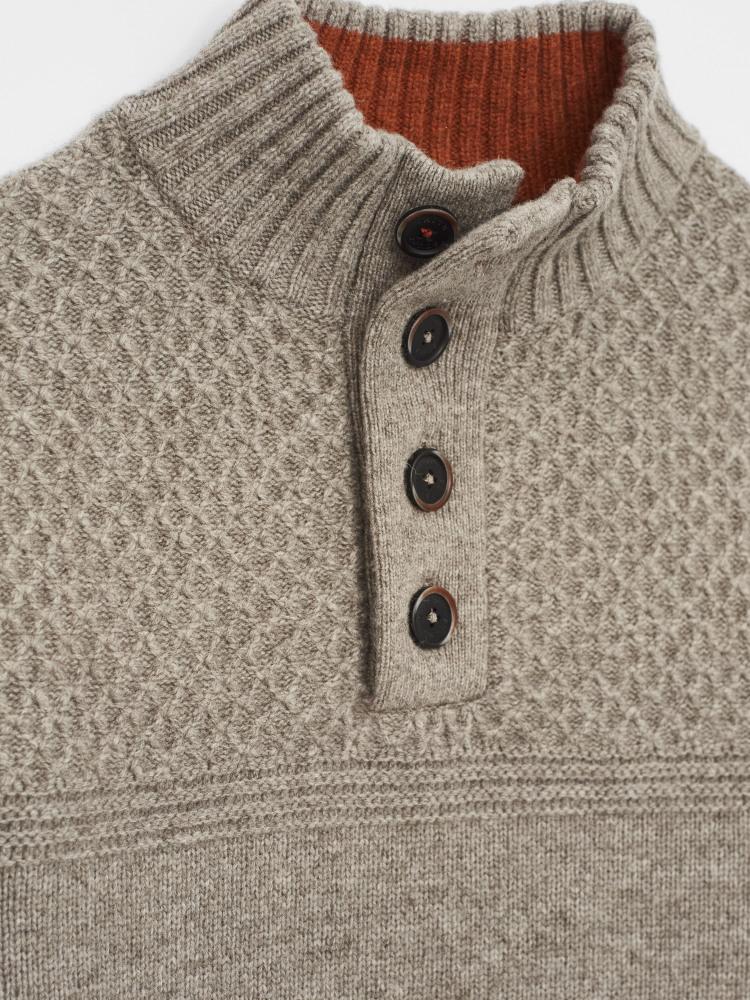 Thorgill Button Neck