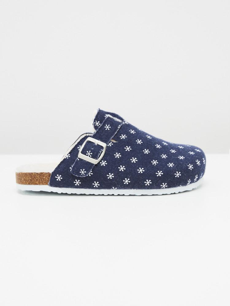 Poppy Footbed Slipper