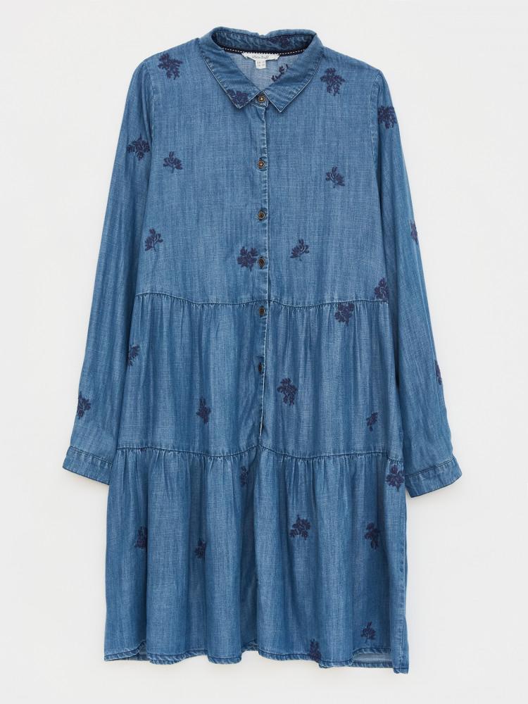 Day Break Tiered Dress