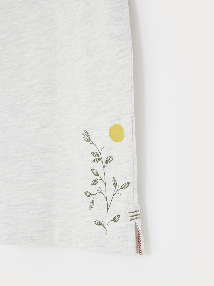 Botanical Organic Graphic Tee