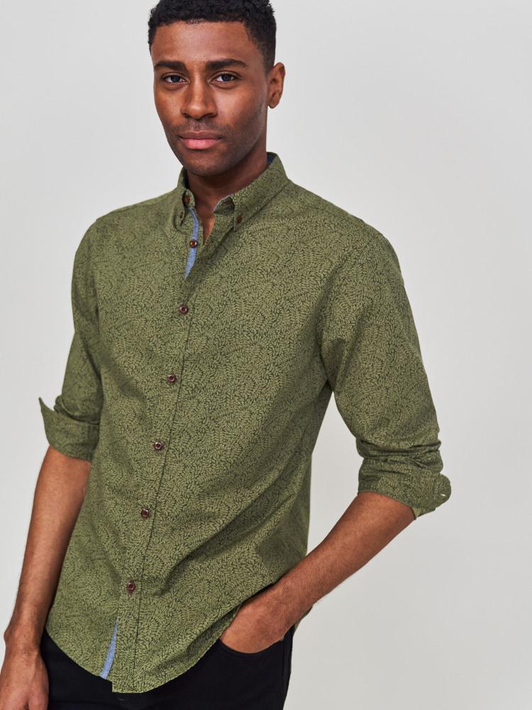 Basil Print Shirt