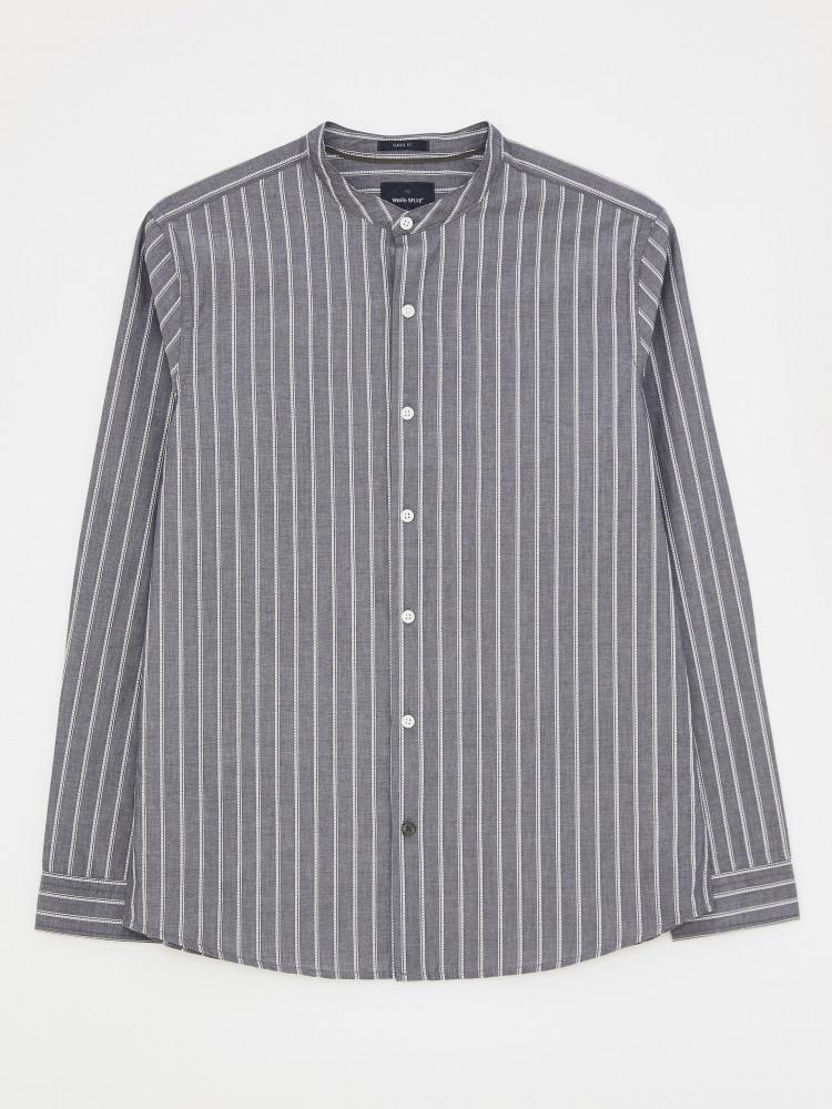 Grandad Stripe Shirt